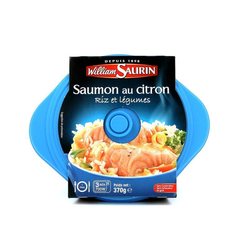 Saumon au citron 370g - WILLIAM SAURIN - Saumon au citron 370g - WILLIAM SAURIN