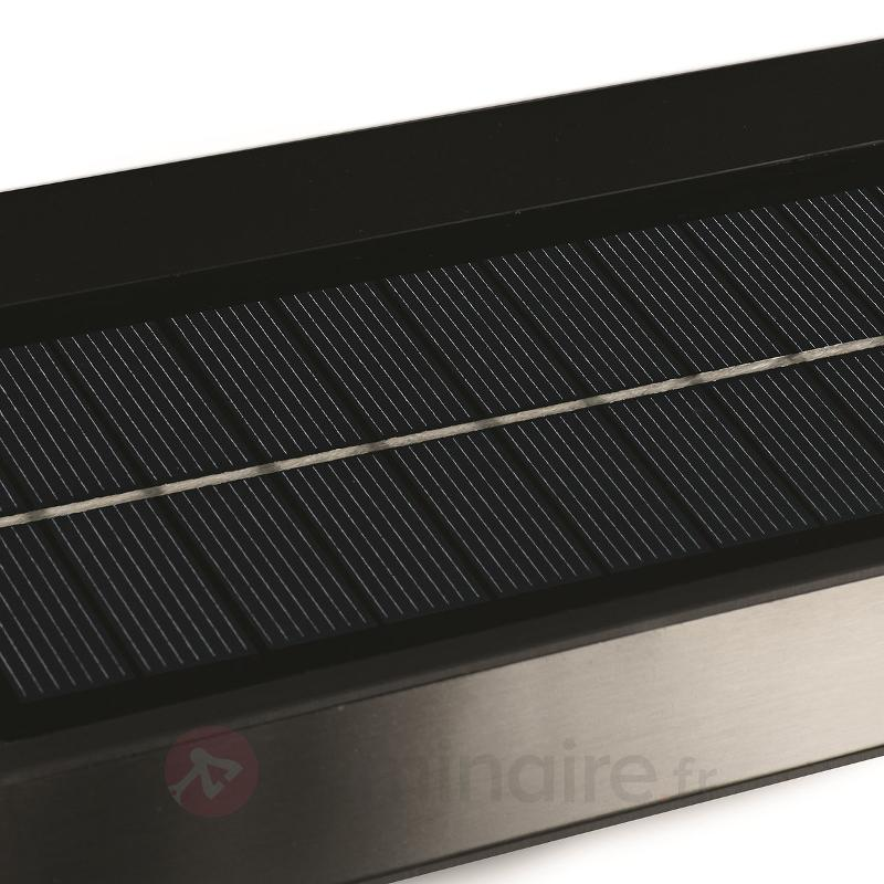Applique d'ext. solaire Greenhouse à détecteur - Lampes solaires avec détecteur