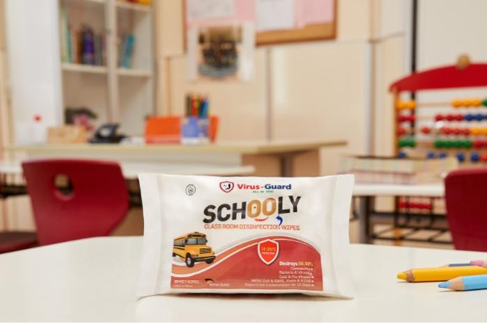Schooly Desinfektionstuch -