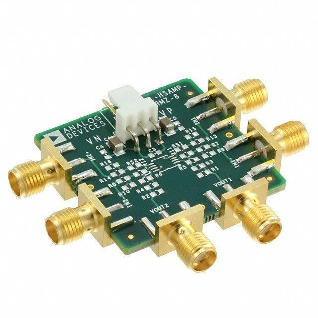 EVAL BOARD FOR SOIC8 OPAMP - Analog Devices Inc. EVAL-HSAMP-2RZ-8