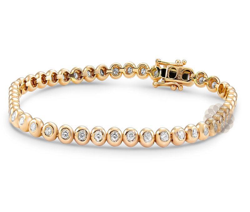 Round Diamond Bracelet -