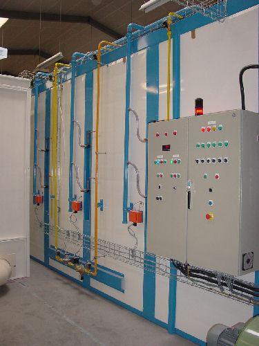 Polymérisation par émétteurs gaz infrarouge - null