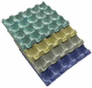 PLATEAU GAMME AVICOLE CDL - Solutions en fibres moulées pour le stockage, le transport des oeufs