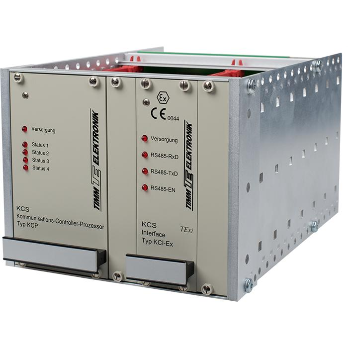 Communication Controller System KCS  - Central interface and supply unit  for installation outside the hazardous area