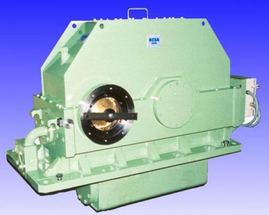 Turbo-multiplicateurs - Multiplicateur moteur électrique /compresseur centrifuge 2100 kW à 17300 rpm