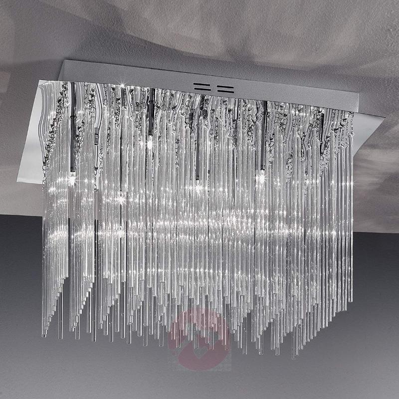 Future II Ceiling Light with Glass Rods Sparkling - Ceiling Lights