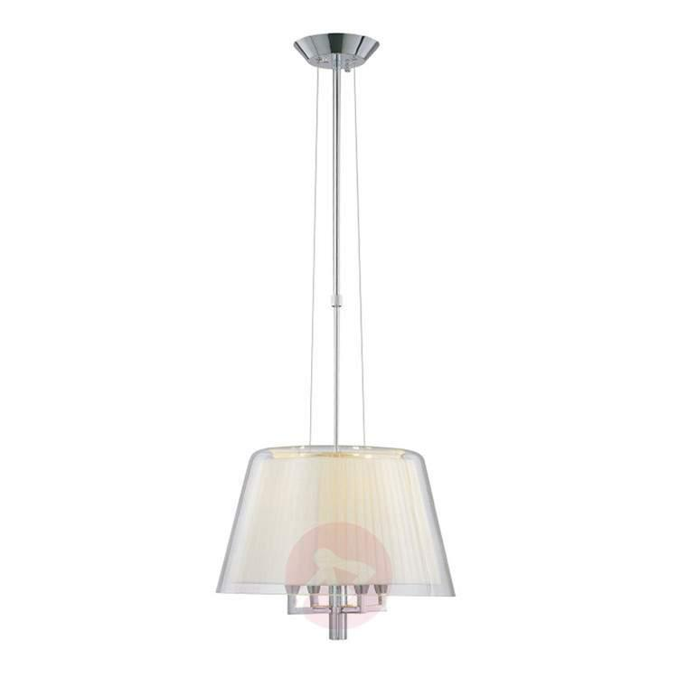Height-adjustable hanging light Plisse, 42 cm - Pendant Lighting