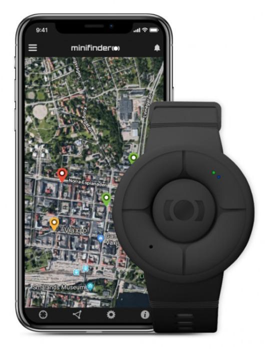 MiniFinder ® Nano GPS Tracker und Personenalarm - GPS Tracker im Mini-Format mit langer Akkulaufzeit und höchster Präzision. Paten
