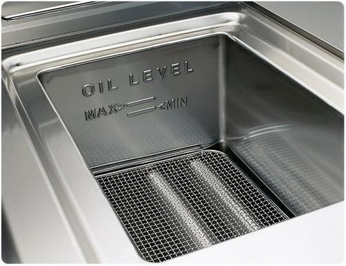 Deep fat fryer - Gas fryer 8 liters ( 6.6 kW)