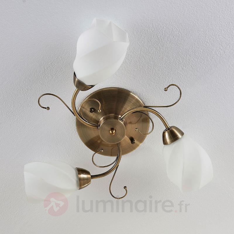 Plafonnier Amedea d'aspect romantique - Plafonniers classiques, antiques