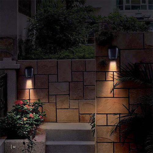 Applique d'extérieur LED Bongo au design original - Appliques d'extérieur LED