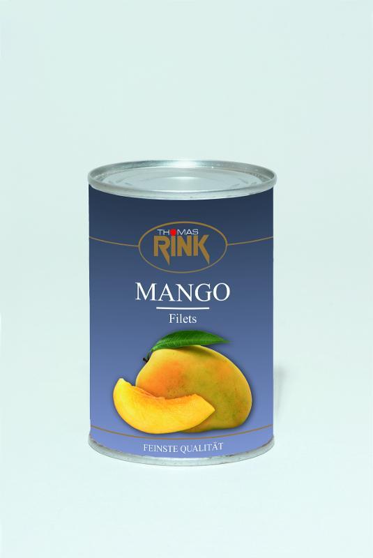 """Mangofilets, 425 ml, gezuckert, Sorte """"Alphonso"""" - null"""