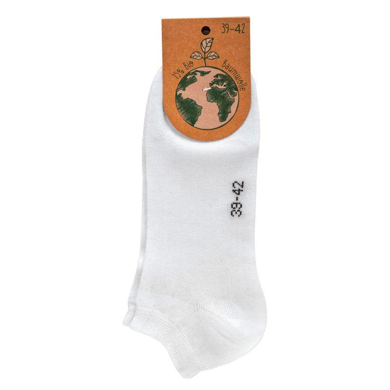 2637 - GOTS Organic Cotton Sneakers Socks  - For the conscious customer.