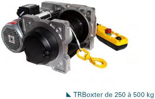 Treuils électriques - Treuil électrique 250kg à 500kg à commande basse tension avec variateur de