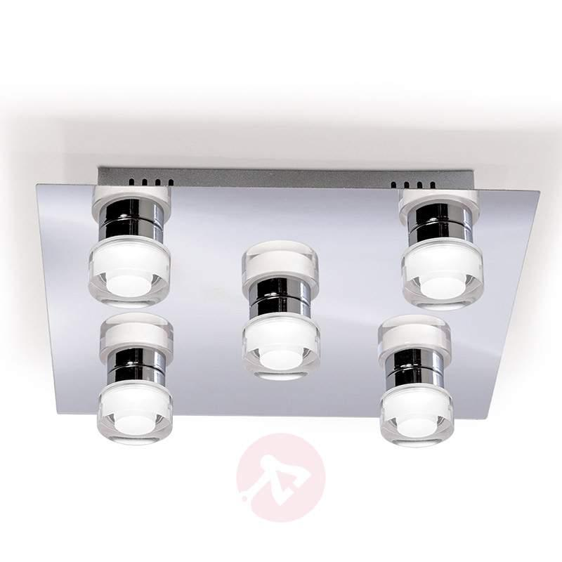 Gilian LED Wall Light Square Five Bulbs - Ceiling Lights