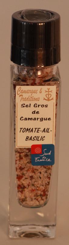 MOULIN RECHARGEABLE - SEL GROS DE CAMARGUE - TOMATE... - Epicerie salée