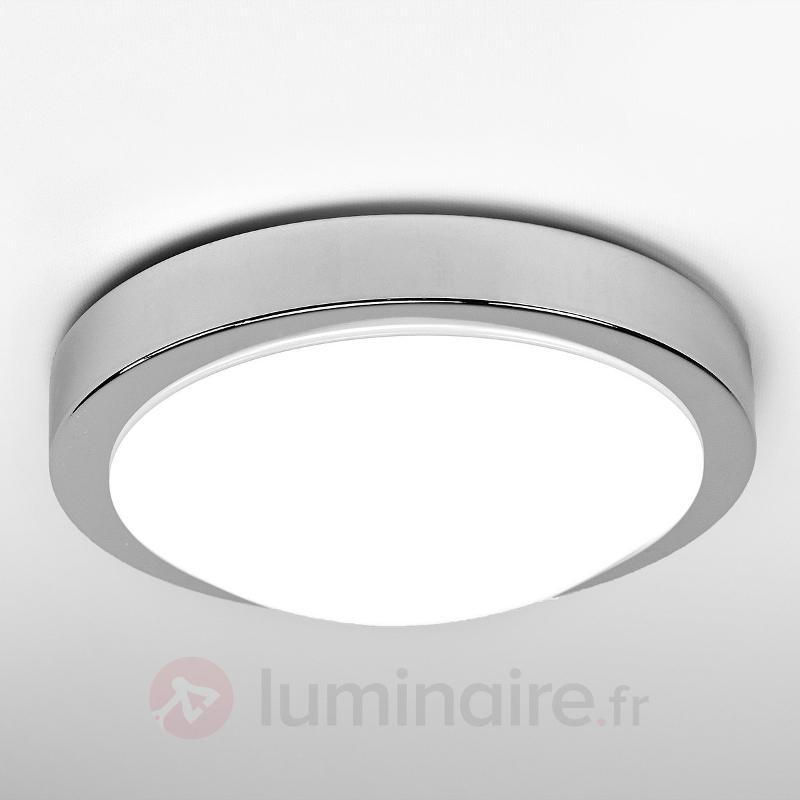 Plafonnier salle de bain LED Aras à détecteur, 10W - Plafonniers avec détecteur