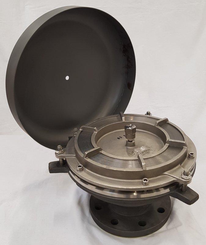 Hotte de ventilation de déflagration - BEH-6-...-IIB3-K - pour les ouvertures de respiration à des réservoirs