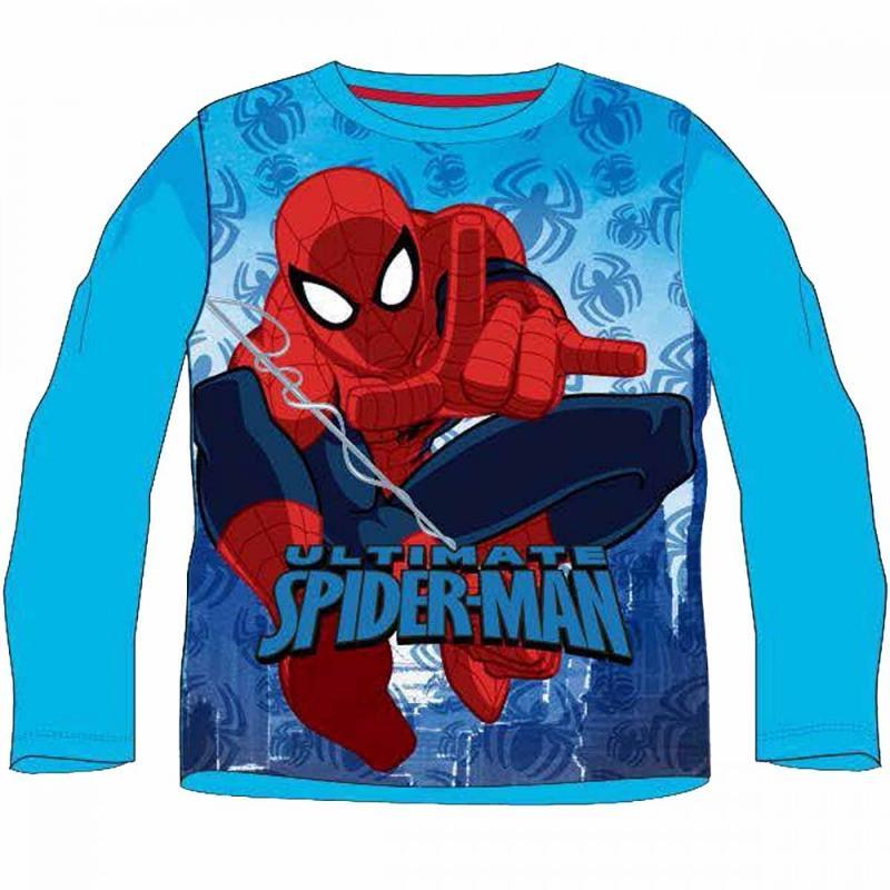 12x T-shirts manches longues Spiderman du 2 au 8 ans - T-shirt et polo manches longues