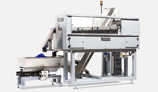 Compact feeding system - ZSK - Complete system ZSK for bunkering, pre-separating, sorting and feeding parts