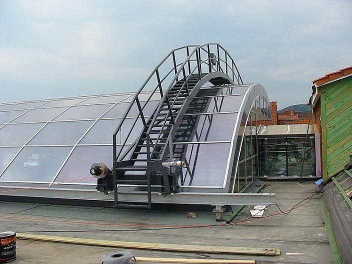 GEDA Gantries - GEDA Gantries - Building Maintenance Units