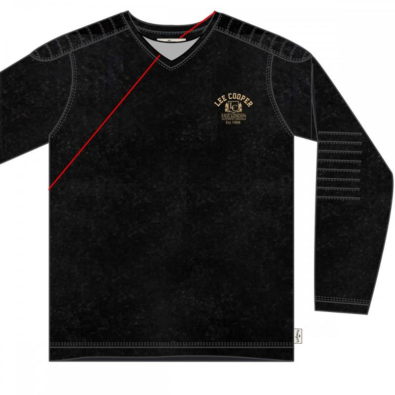 12x T-shirts manches longues Lee Cooper du 2 au 5 ans - T-shirt et polo manches longues