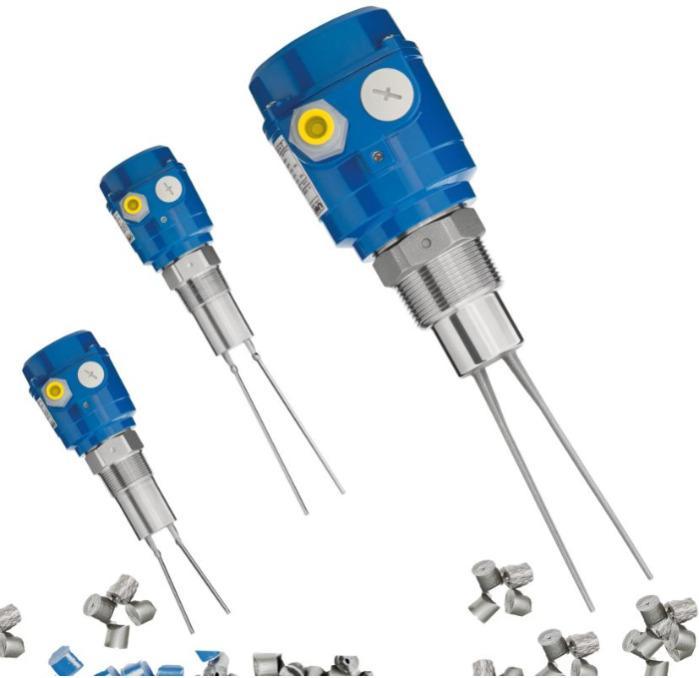 Sensor com garfo vibratório Vibranivo® VN 4000 - Detector de Cheio, Demanda ou Vazio - para medição pontual de nível
