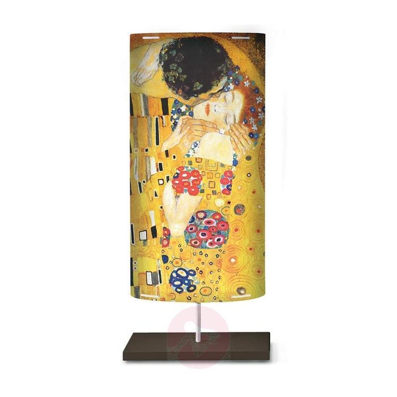 Art motif on the floor lamp Klimt III - Floor Lamps