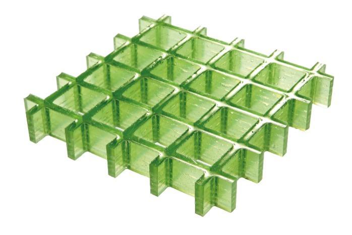 Grigliato in vetroresina alta resistenza chimica -