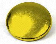 Calotte renforcée 15mm laiton vielli - Pressions