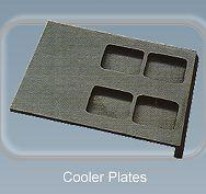 Cooler plates - Wear resistant equipment