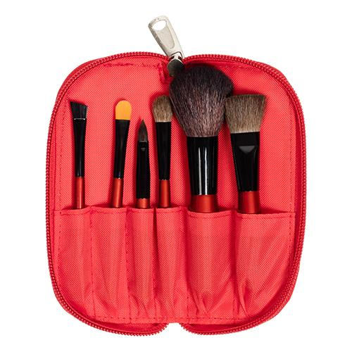 Natural Goat Pony Hair Cosmetic Brush Makeup Brush Set - MTS-03