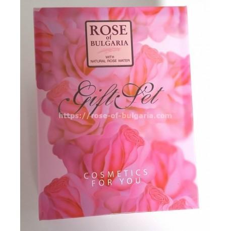 Coffret cadeau 3 savons, crème main et parfum - Coffrets cadeaux