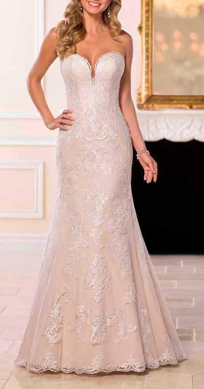 Strapless Wedding Dresses - Custom Made To Measure