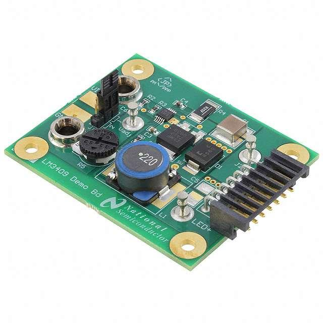 EVAL BOARD FOR LM3409 - Texas Instruments LM3409EVAL/NOPB
