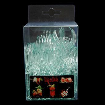 Mise en bouche MMB boîte transparente - MMB27 Fourchette