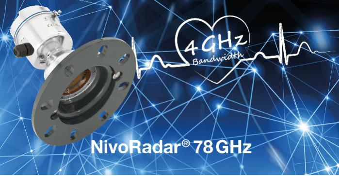 Transmissor de nível NivoRadar® NR 3000 - Medição contínua de nível - Transmissor de nível por Radar FMCW 78GHz