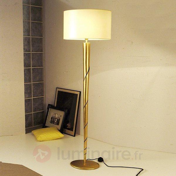 Magnifique lampe à poser INNOVAZIONE, fer doré - Lampadaires design