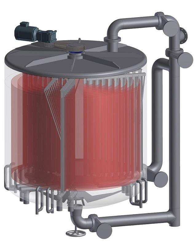 Uso de la energía en plantas depuradoras - y procedente de las aguas superficiales con un gran potencial energético