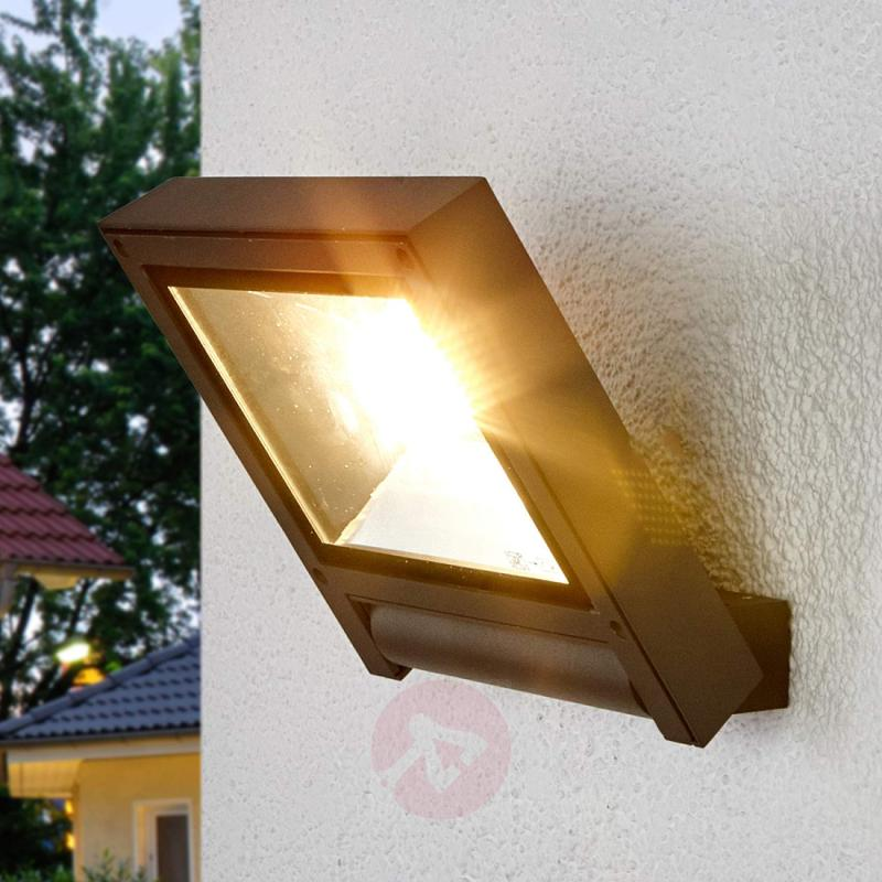 Dark grey LED spotlight for Maico for outdoors - outdoor-led-lights