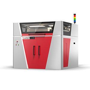 VX500  - Bauraum LxBxH 500 x 400 x 300 mm | Druckauflösung bis zu 600 dpi