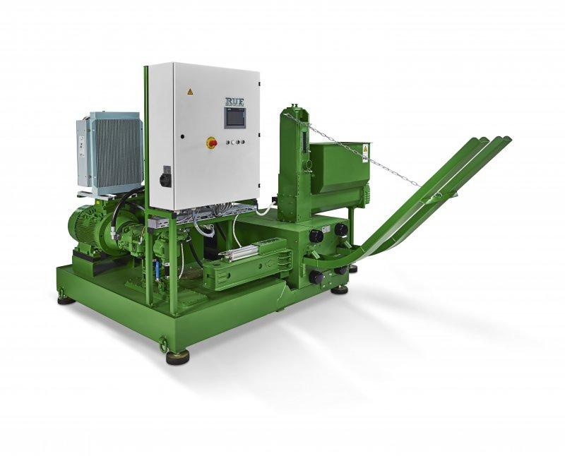 RUF LIGNUM series - Briquetting press for wood
