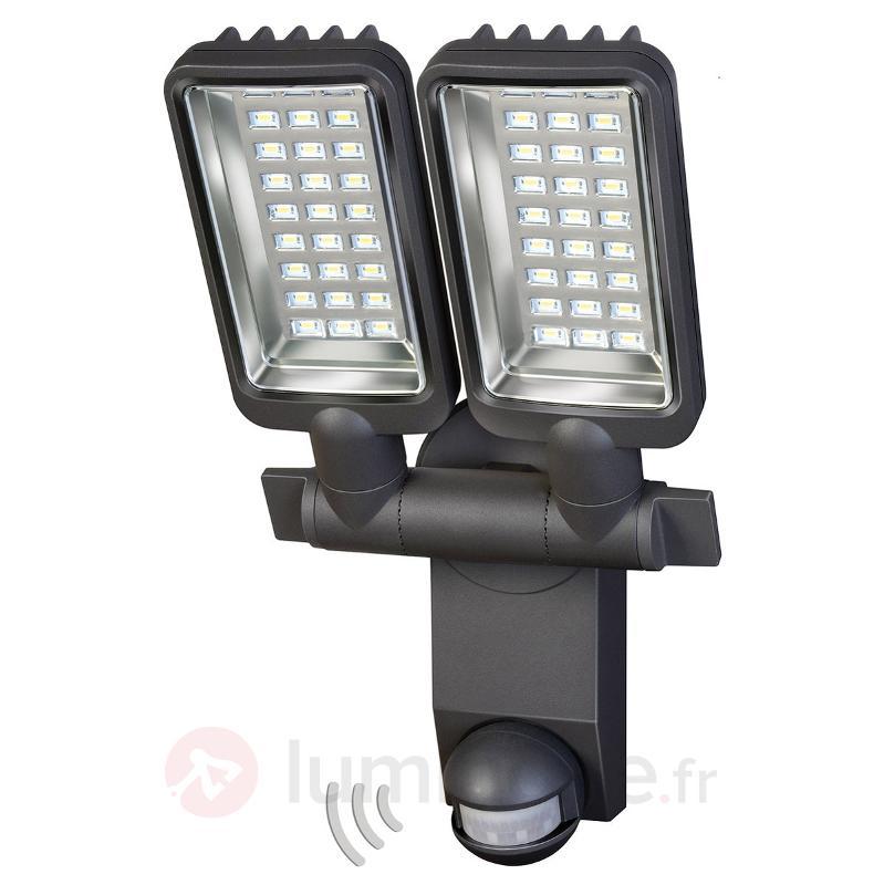 Projecteur d'extérieur LED City à deux lampes - Projecteurs d'extérieur LED