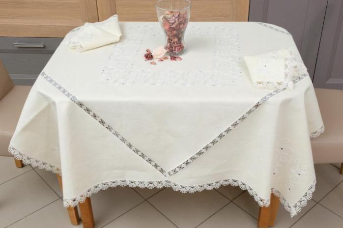 "Unique design table  linen set! - ""French meal"""