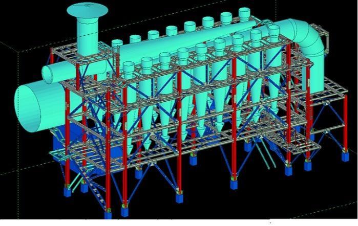Stahlbau- 2D/3D Ausführungsplanung - im Bereich Anlagenbau