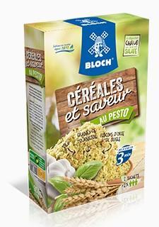 Céréales et Saveur Pesto Bloch Société Nouvelle - Mélange de céréales gourmandes Pesto Etuis de 350 grammes