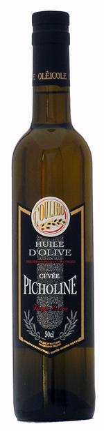 Huile cuvée Picholine 50 CL - Produits oléicoles