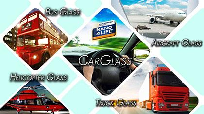 NANO4-CARGLASS - Invisible protection , sealing ,easy to clean for carglass urfaces