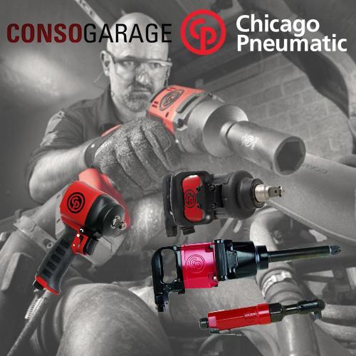 Clés à choc Chicago Pneumatic - LA référence historique des outils pro