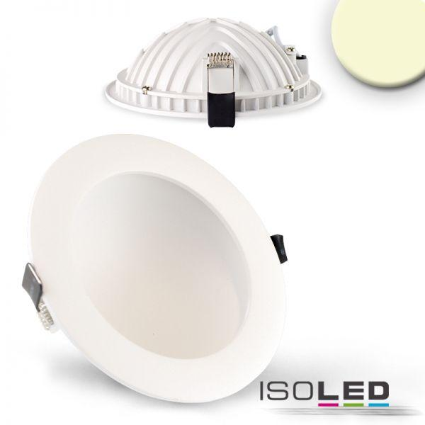 LED DOWNLIGHT LUNA 12W, WEISS, INDIREKTES LICHT, WARMWEISS